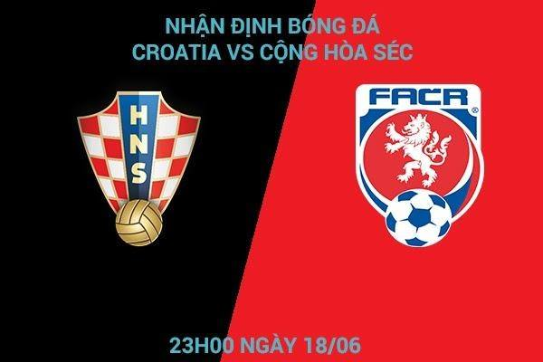Soi kèo thẻ vàng Croatia vs Cộng Hòa Séc
